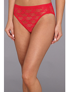 SALE! $13.45 - Save $2 on OnGossamer Gossamer Allover Lace Hi Cut Brief 020601 (Red Velvet) Apparel - 10.33% OFF $15.00