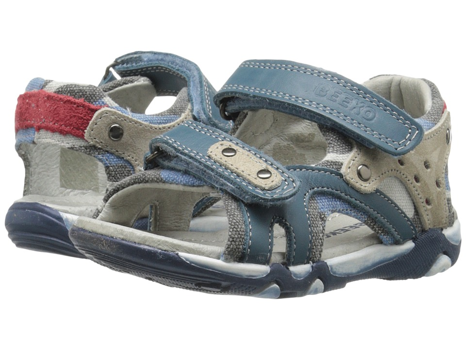 Image of Beeko - Achilles (Toddler) (Blue) Boys Shoes