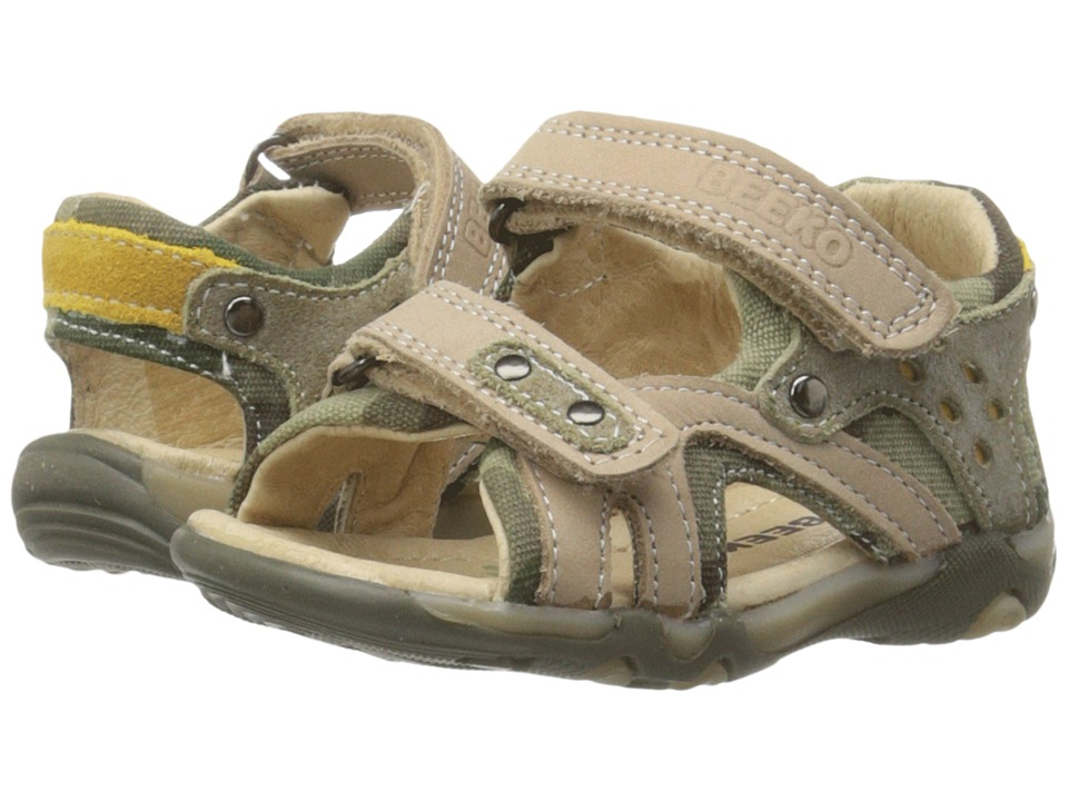 Beeko - Achilles (Toddler) (Khaki) Boys Shoes