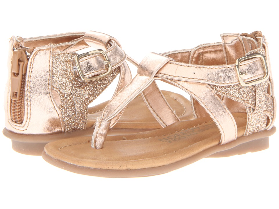 Kenneth Cole Reaction Kids Keep Heart 2 Girls Shoes (Gold)
