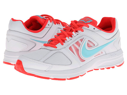 Nike - Air Relentless 3 (White/Laser Crimson/Polarized Blue) Women's Running Shoes
