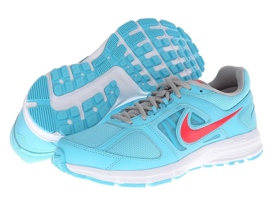 Nike - Air Relentless 3 (Polarized Blue/Metallic Silver/White/Laser Crimson) Women