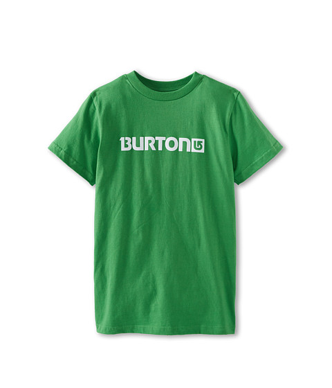 Burton Kids - Logo Horizontal S/S Tee (Big Kids) (Acres) Boy