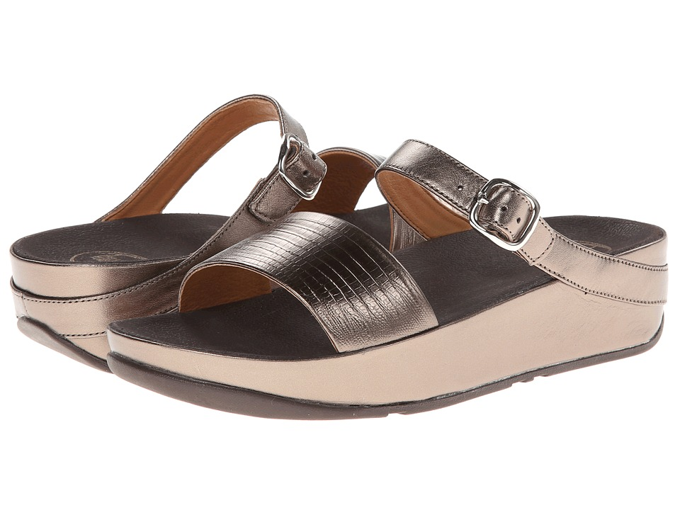 FitFlop - Souza (Bronze) Women's Flat Shoes