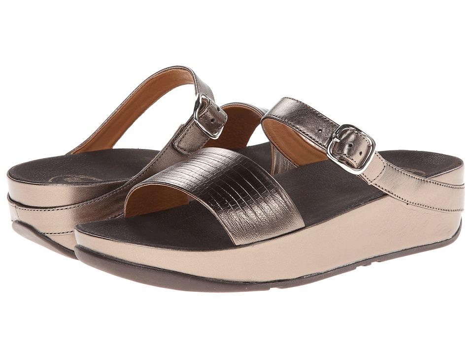FitFlop - Souza (Bronze) Women's Flat Shoes