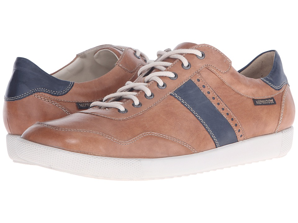 Mephisto Urban (Hazlenut/Navy Steve) Men's Shoes