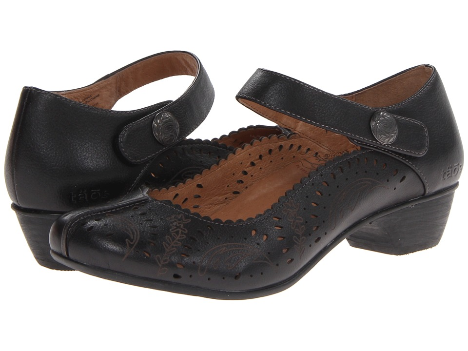 taos Footwear - Tango (Black) Women's Maryjane Shoes