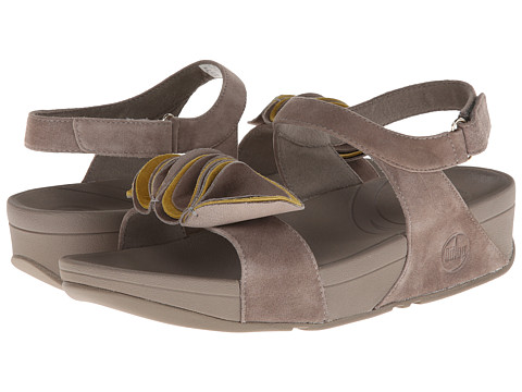 FitFlop - Yoko Sandal (Mink/Yellow Pear) Women's Sandals