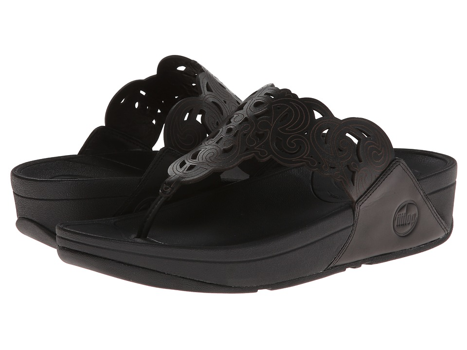 FitFlop - Flora (Black) Women