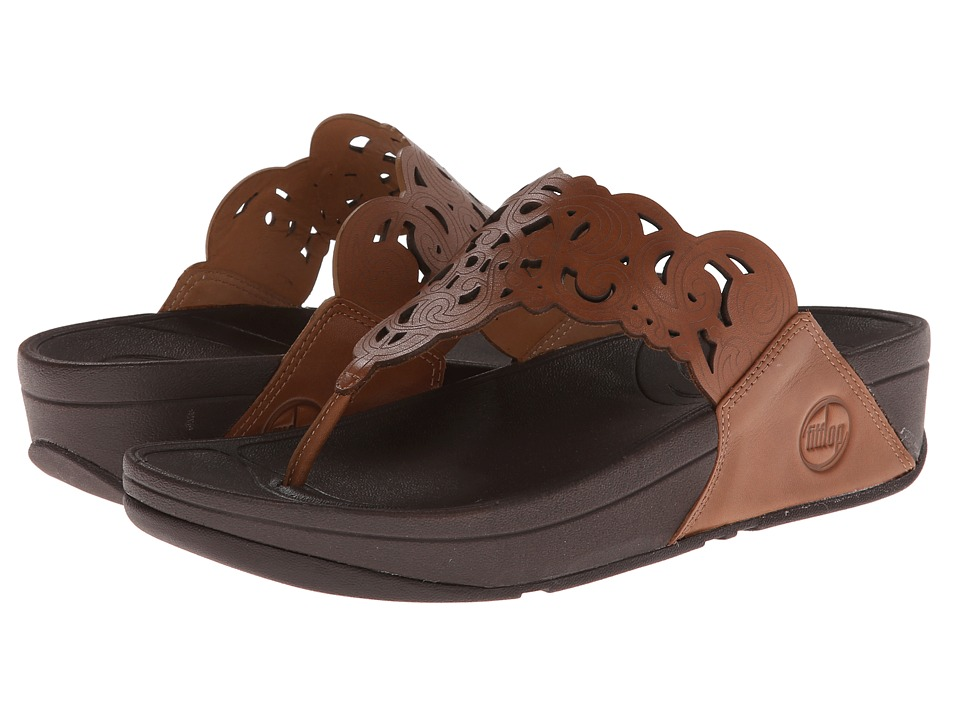 FitFlop - Flora (Tan) Women's Sandals