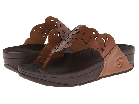 FitFlop - Flora (Tan) Women's Sandals