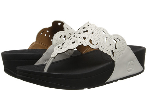 FitFlop - Flora (Urban White) Women's Sandals