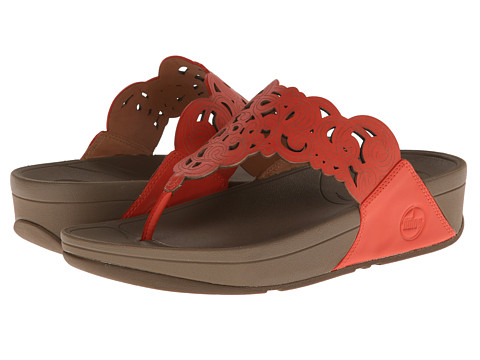 FitFlop - Flora (Ultra Orange) Women's Sandals