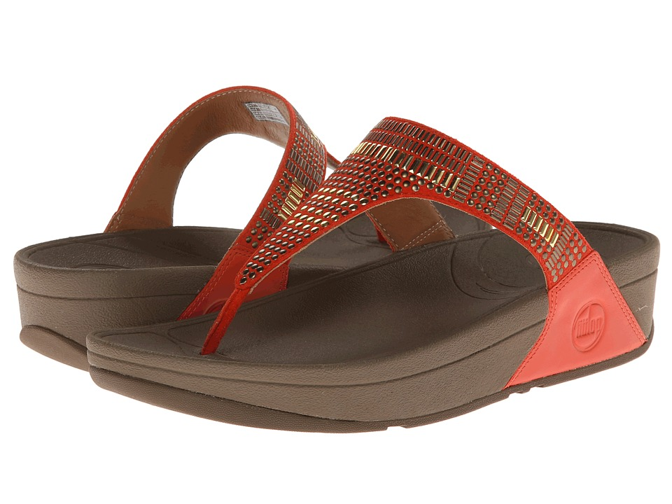 UPC 883945440137 product image for FitFlop Aztek Chada (Ultra Orange) Women's  Sandals | upcitemdb ...