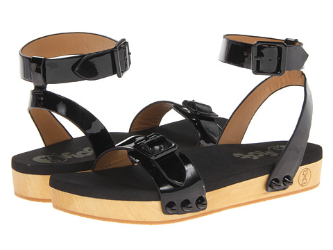 Flogg - Noelle (Black Patent Leather) Women's Sandals