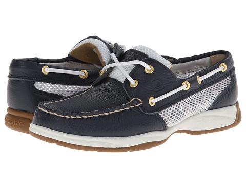 Sperry Top-Sider - Intrepid 2-Eye (Navy/Open Mesh) Women's Slip on Shoes