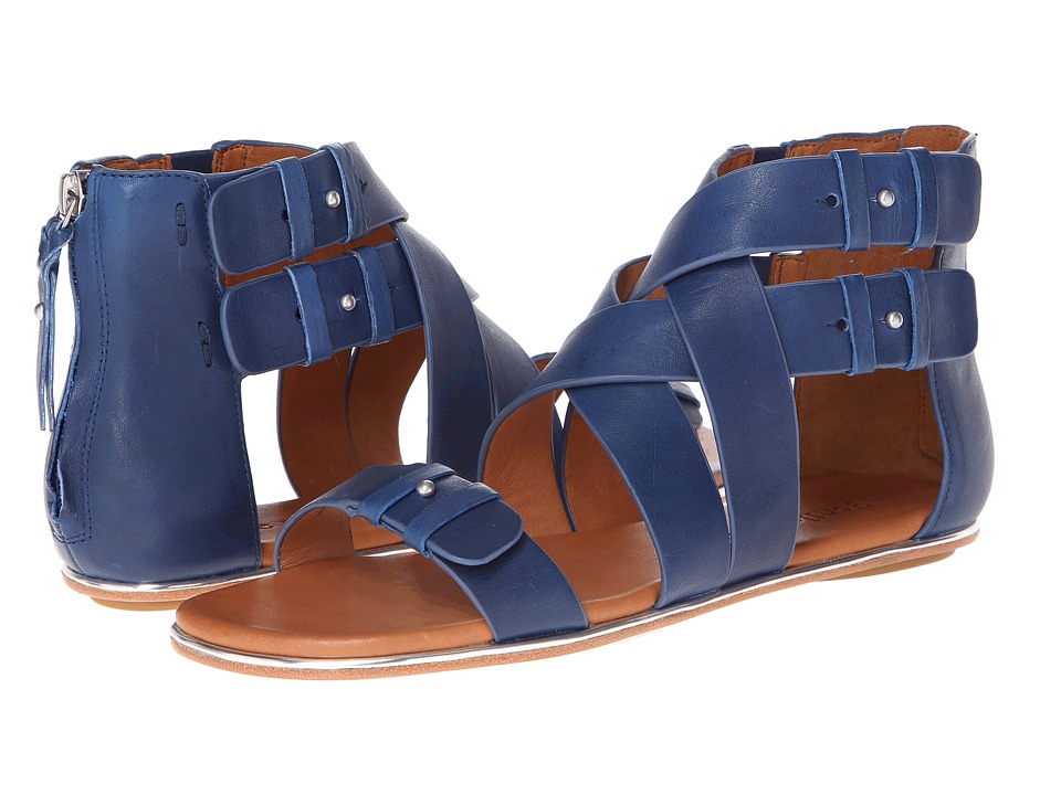 Gentle Souls - Blessie (Royal Blue Leather) Women's Sandals