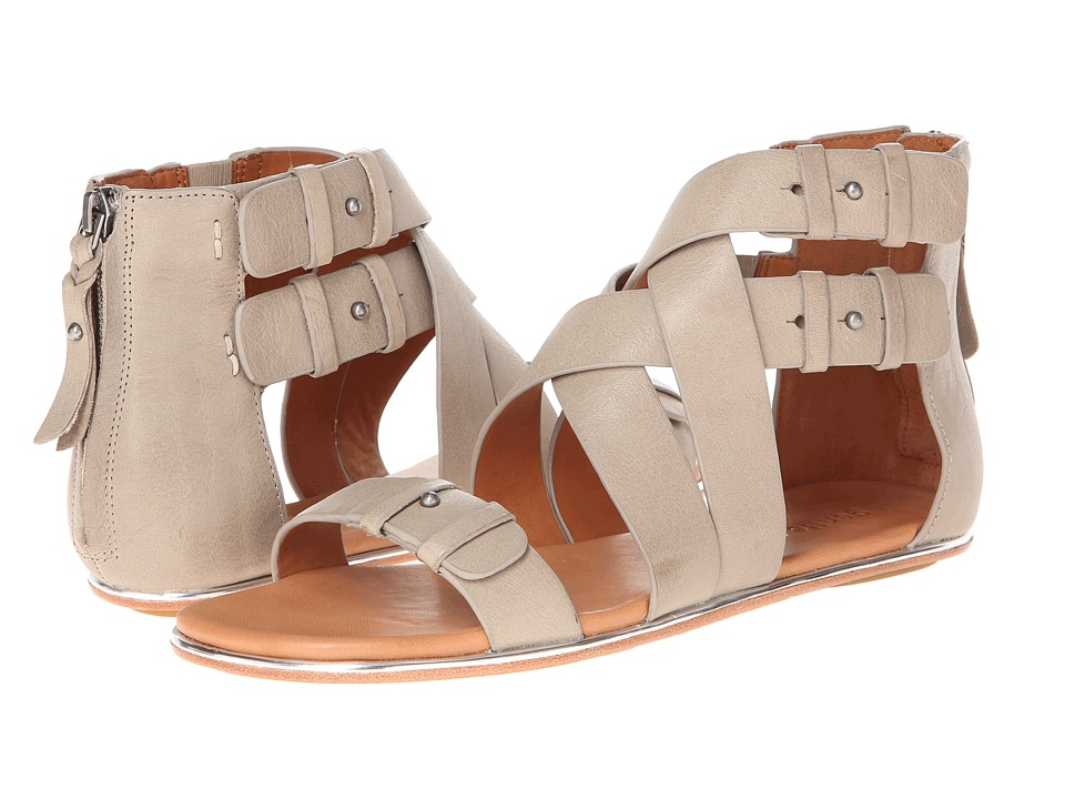 Gentle Souls - Blessie (Dark Taupe Leather) Women's Sandals