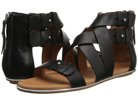 Gentle Souls - Blessie (Black Leather) Women's Sandals