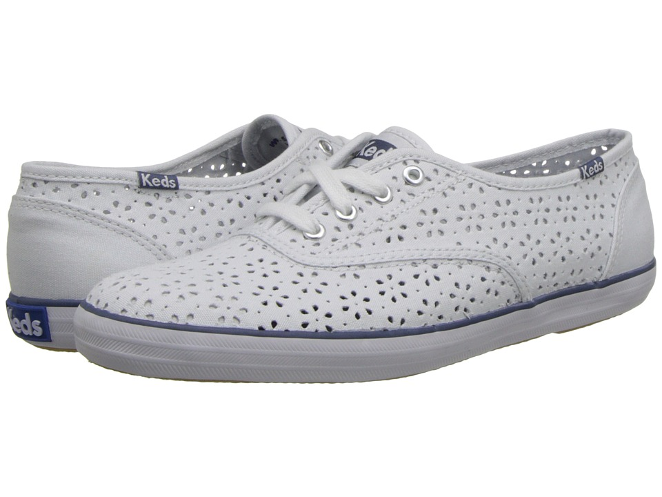 Keds - Champion Perf (White Canvas) Women's Shoes