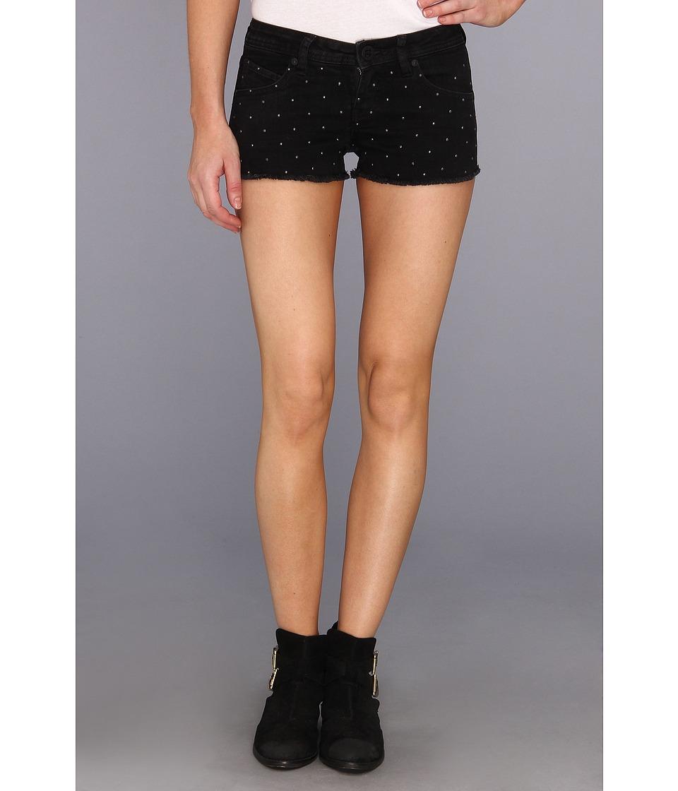 Volcom - High Voltage Embellished Short (Mariachi Black) Women