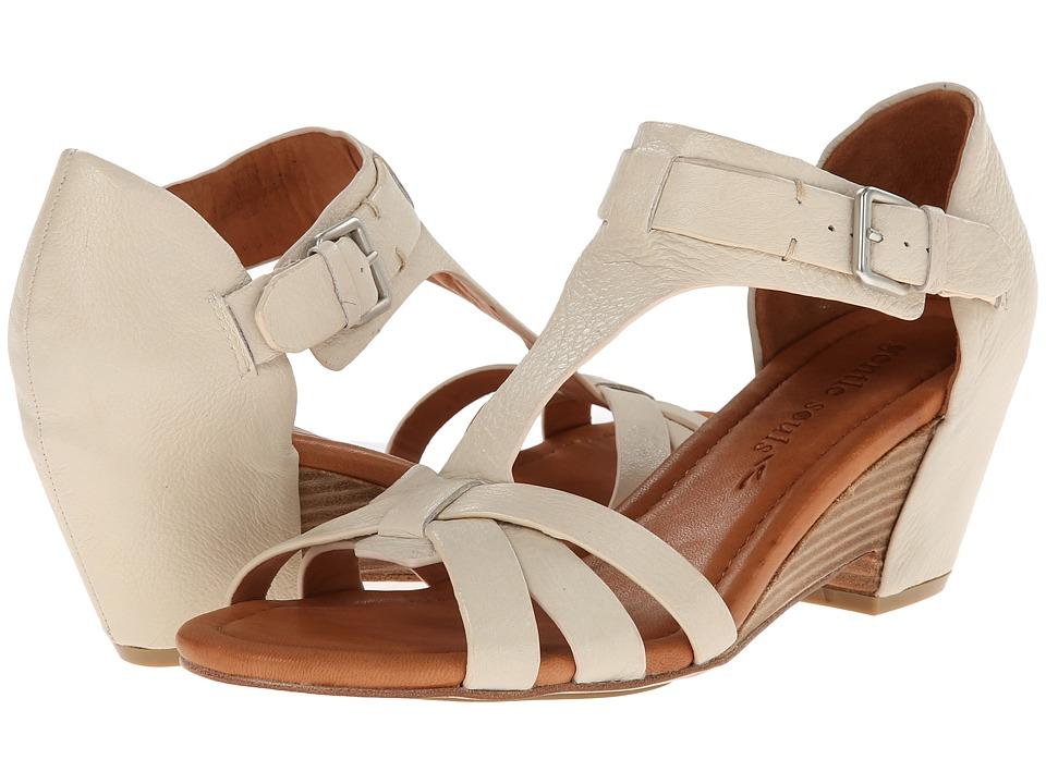 Gentle Souls - Malana (Stone Leather) Women's Dress Sandals