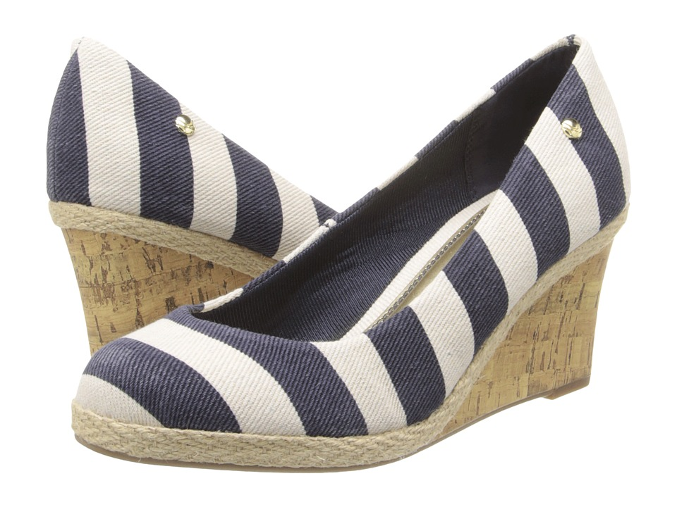 LifeStride - Costume (Navy/Natural Funday Fabric) Women's Shoes