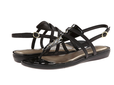 LifeStride - Nemesis (Black Excellent/Goodland) Women's Sandals