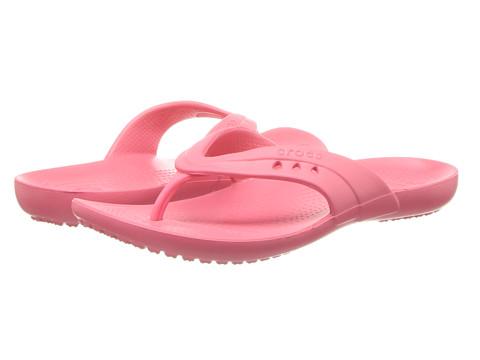 Crocs - Kadee Flip-Flop (Coral) Women's Sandals