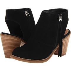 DV by Dolce Vita Janis (Black Suede) Footwear