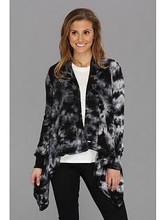 SALE! $26.99 - Save $33 on Volcom Little Lie Sweater Wrap (Black) Apparel - 54.64% OFF $59.50