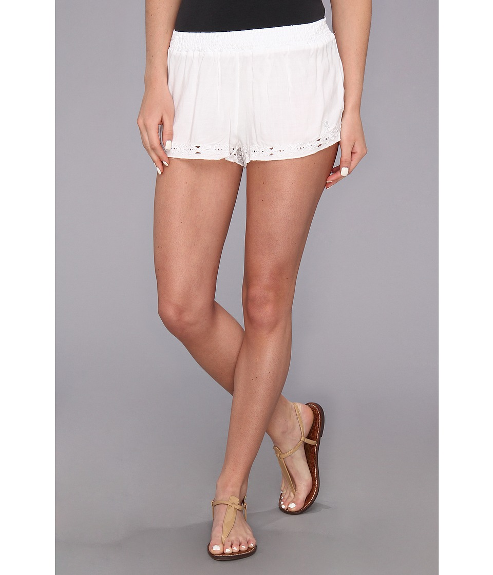 Volcom - Luvin Short (White) Women's Shorts