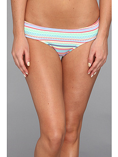 SALE! $21.99 - Save $16 on Roxy Itsy Bitsy Cheeky (Roxy White Stripe) Apparel - 42.13% OFF $38.00