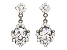 Nina E-Janine Earrings (Black)