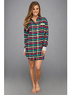 SALE! $19.99 - Save $24 on Steve Madden Comfy Cozy Boyfriend Sleep Shirt (Rad Plaid) Apparel - 54.57% OFF $44.00
