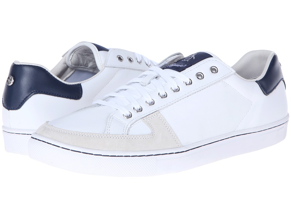 Original Penguin - Rave Leather (White) Men