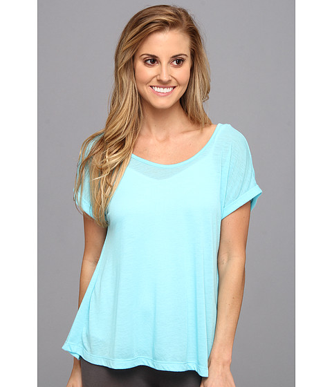 Steve Madden - Hi-Low Tee (Bahama Blue) Women