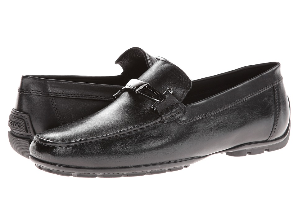 Geox - Uomo Monet (Black) Men's Shoes