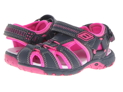 Superfit - Tia (Toddler/Little Kid/Big Kid) (Dark Navy/Neon Pink) Girl's Shoes