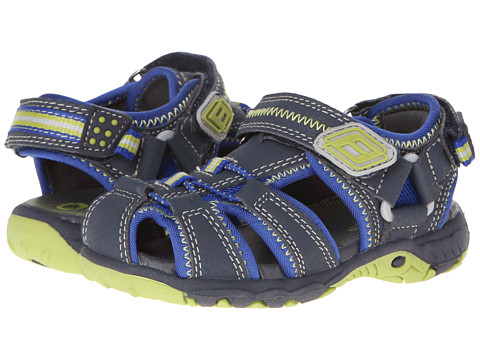 Superfit - Tia (Toddler/Little Kid/Big Kid) (Darkk Navy/Lime/Green) Boys Shoes