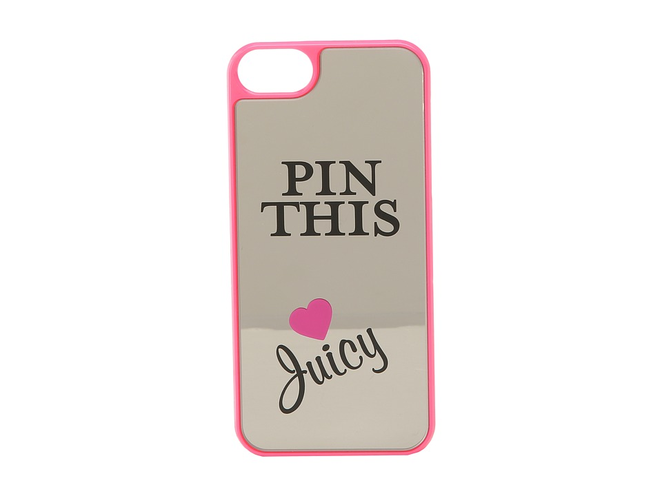 Juicy Couture - Pin This Mirror Iphone 5 Case (Beauty) Cell Phone Case