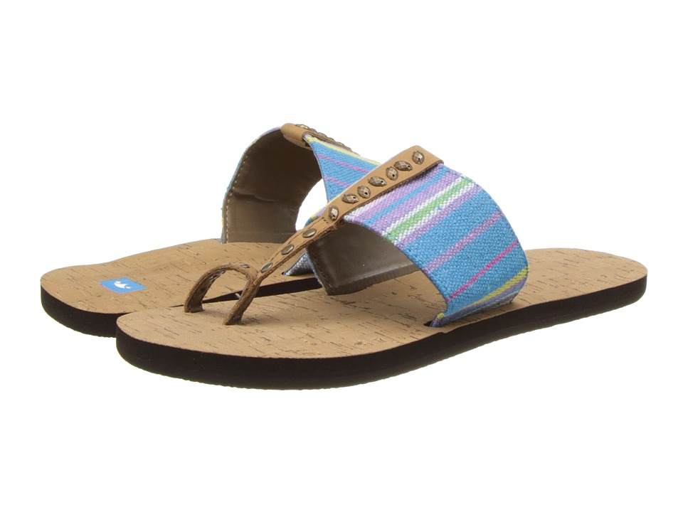 Freewaters - Lola (Blue Stripe) Women's Sandals