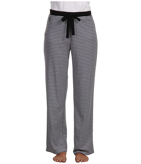 LAUREN by Ralph Lauren - Verona Knits Pajama Pant (Verona Stripe Black) Women