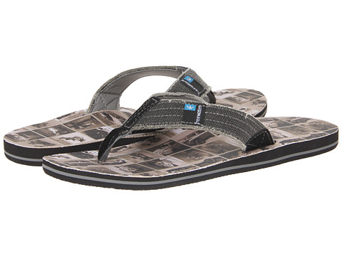 Freewaters - Palapa Print (Old Cars) Men's Shoes