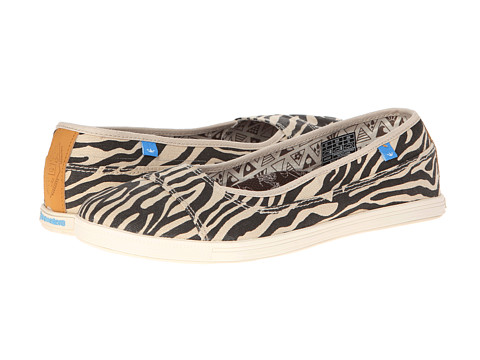 Freewaters - Mint (Zebra Print) Women's Shoes