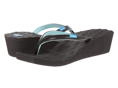 Freewaters - Dawn Wedge (Black) Women's Wedge Shoes