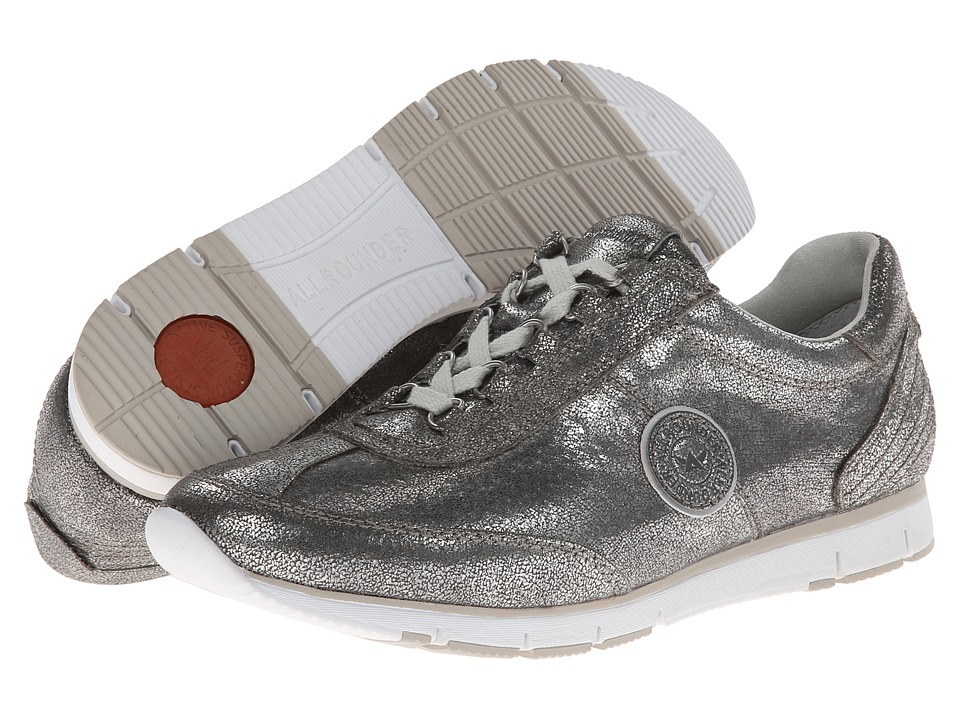 Allrounder by Mephisto - Janika (Silver Metallic) Women's Shoes