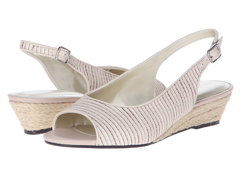 David Tate - Sunny (Beige) Women's Sling Back Shoes