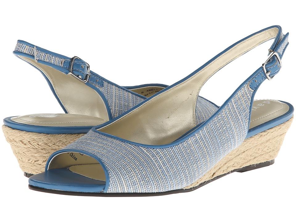 David Tate - Sunny (Blue) Women's Sling Back Shoes