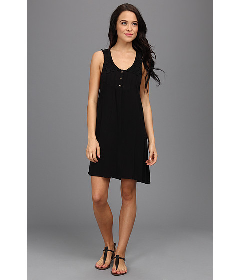 Volcom - Sundae Dress (Black) Women's Dress